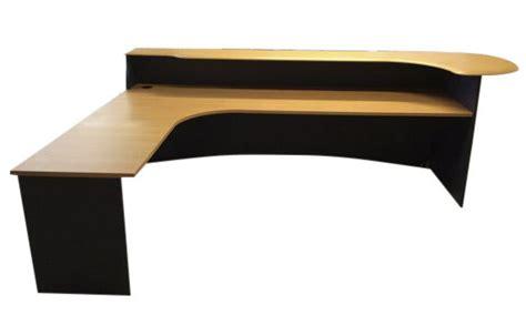 Reception Desks Nz 2400 Left Reception Desk Nz