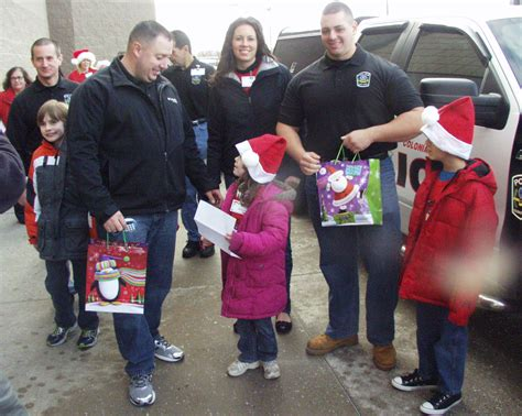 christmas present for cops shop with cops for gifts the home news