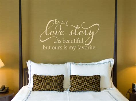 master bedroom wall decals every love story is beautiful love wall decal master