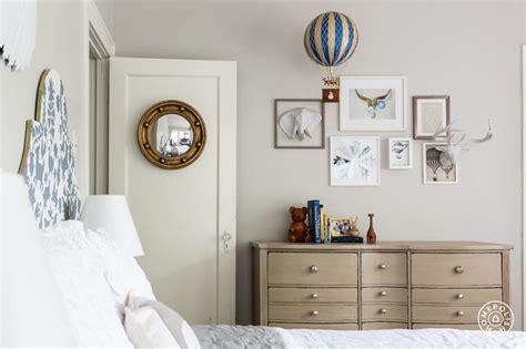 mirror over dresser in nursery beautiful guest room decor features art over nursery