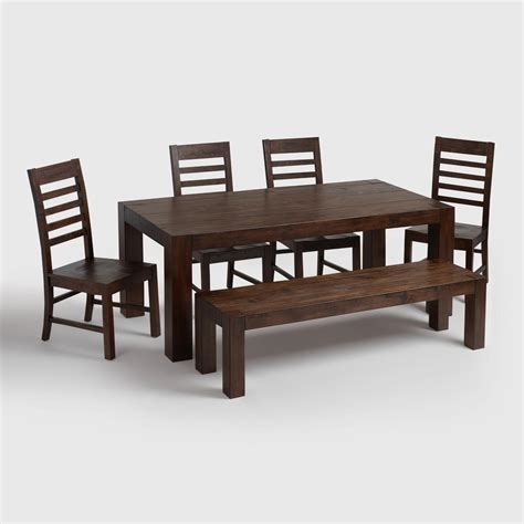 distressed wood dining room table distressed wood dining table set choice image dining