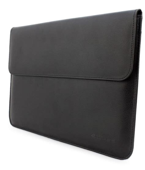 Macbook Pro 15 Inch Black snugg 15 inch black leather sleeve for macbook pro