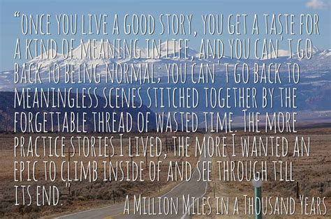 a million miles in a thousand years what i learned while editing my own life how you can start living a better story today