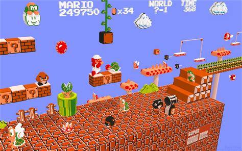Kaos Mario Bross Mario Artworks 05 mario artwork now in 3d the martian oddity