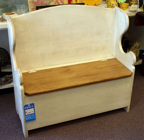 deacon bench plans diy wued useful deacon storage bench plans