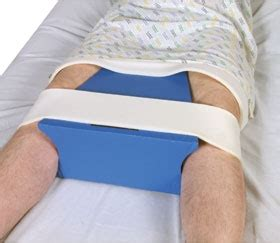 hip abduction pillow after hip surgery alimed abduction wedge and pillow