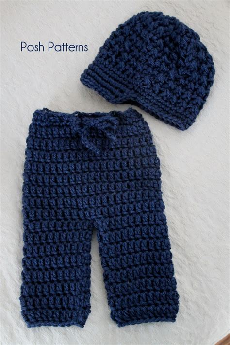 free pattern baby pants crochet patterns newborn pants longies and newsboy visor hat