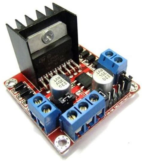 L298n V3 Module Four Dc Stepper Motor Driver Module robodo l298n dc driver controller stepper motor smart car board module arduino pic dual h