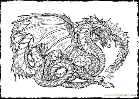 free printable coloring pages for adults advanced dragons detailed dragon coloring pages coloring days are here