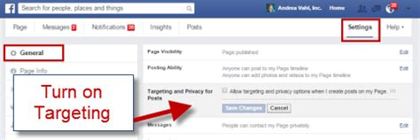 how to use facebook organic post targeting : social media