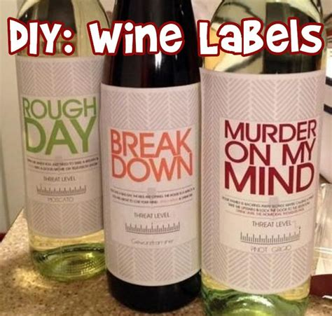 labels for gifts 25 best ideas about wine labels on