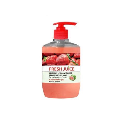 Soap Liquid Strawberry fresh juice strawberry guava liquid soap 460 ml 9 95 kr