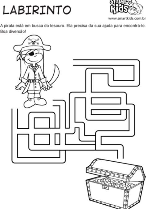 Atividade Piratas Labirinto - Atividades - Smartkids
