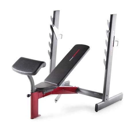 professional weight bench set weider pro 450 l olympic width bench shop your way