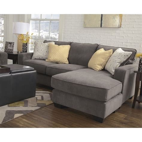 ashley hodan sofa chaise ashley furniture hodan fabric 2 piece sectional in marble
