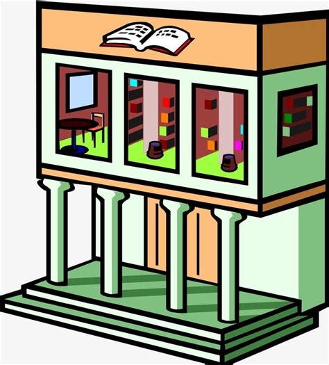 library clipart library library clipart building png image and clipart
