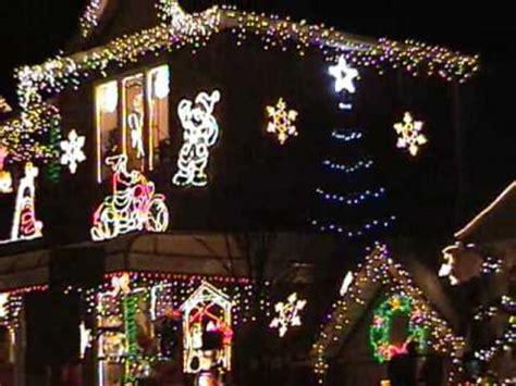 bensonhurst brooklyn christmas lights youtube