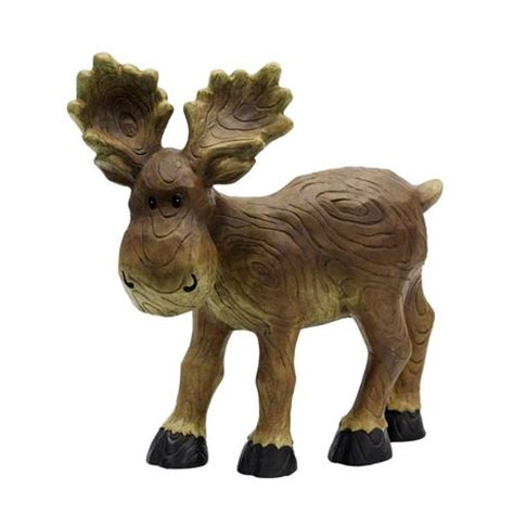 moose lawn ornament mainstays 13 5 quot medium moose lawn ornament walmart canada