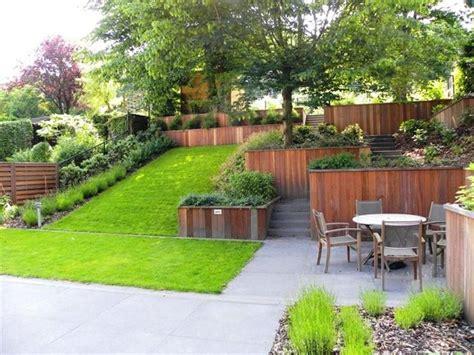 giardini a giardini a terrazze crea giardino progetti giardini