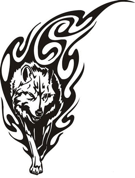 tattoo tribal wolf 18 awesome tribal wolf tattoo only tribal