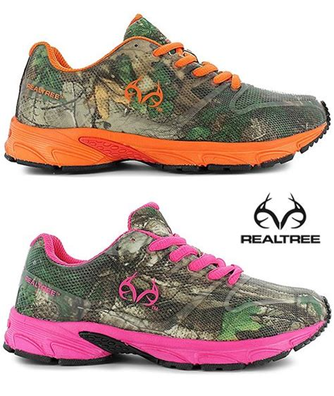 real tree pink camo running shoes mens health network