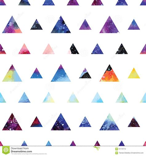 seamless triangle pattern vector triangles seamless pattern stock vector image 61170712