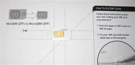 se puede cortar una tarjeta sim para hacerla microsim tecnolog 237 a como cortar una tarjeta sim compartiendo