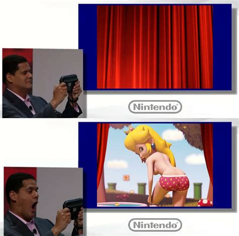 Wii U Meme - peech wii u and reggie super smash brothers know your meme