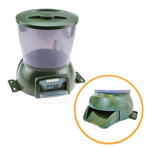 Feeder Fish Food automatic pond fish food feeder koi feed timer
