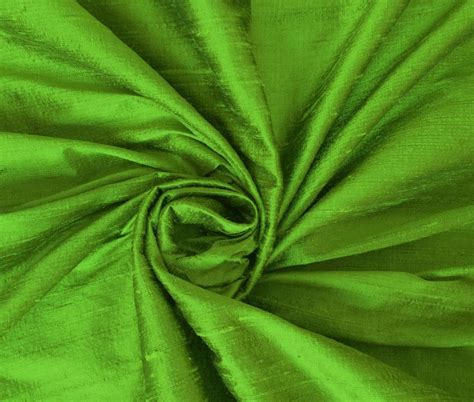 silk drapery fabric by the yard parrot green 100 dupioni silk fabric yardage by the yard