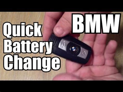how to replace a bmw key battery and key troubleshooting