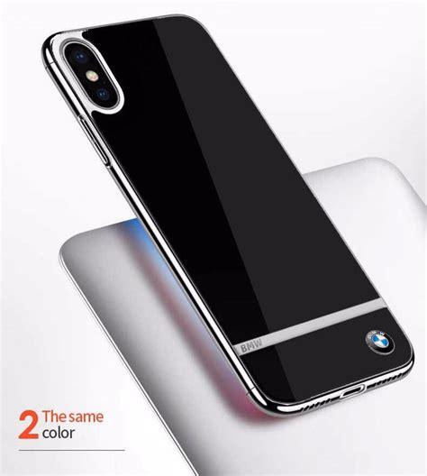 Iphone X Mirror bmw 174 apple iphone x mirror signature shine electroplated