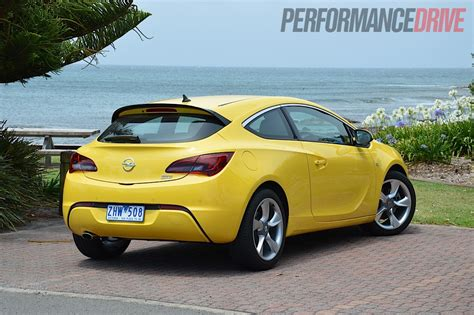 opel yellow 2012 opel astra gtc sport review video performancedrive