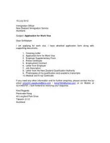 Cover Letter Template Nz by Cover Letter New Zealand Cover Letter Templates