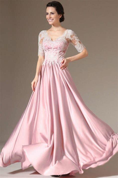 Wedding Formal Dress by V Neck Half Sleeve Evening Formal Prom Cocktail