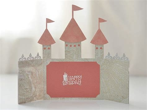 castle card template castle card svg file castle invitation