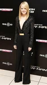 emma stone jumpsuit elie saab 2012 emma stone s 10 best red carpet looks