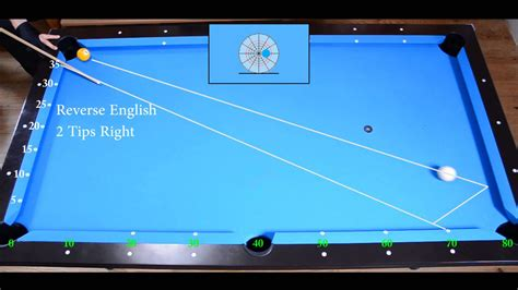 pool table system two rails kick drill 2 aiming with system