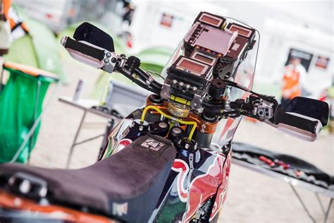 Red Bull Racing Aufkleber Motorrad by Dakar Rally Ktm 450 Controls Red Bull