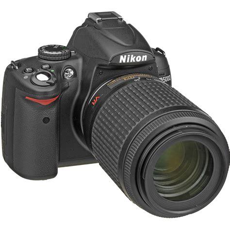nikon d5000 nikon d5000 digital slr with 55 200mm vr f 4 5 6g lens