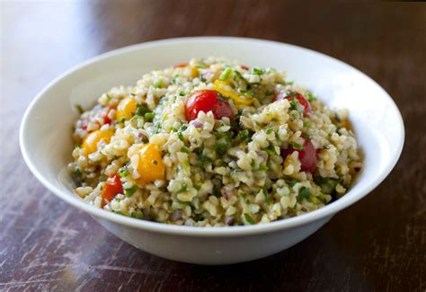Side Tabbouleh by Lebanese Archives The Partial Ingredients