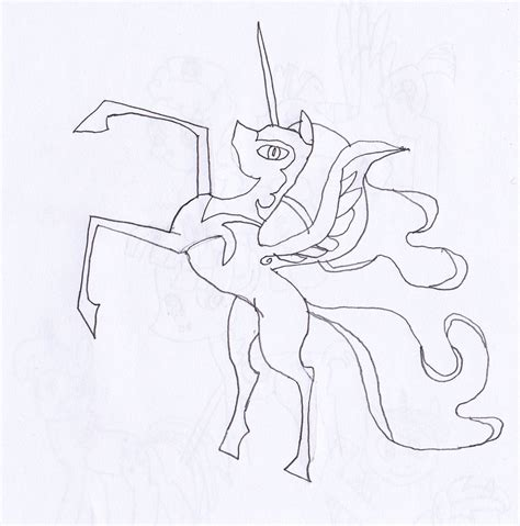 coloring page nightmare moon my little pony coloring pages nightmare moon