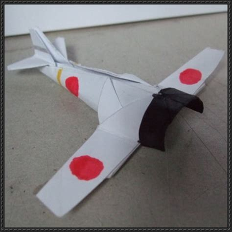 Origami Fighter Planes - how to fold an origami mitsubishi a6m2 zero fighter