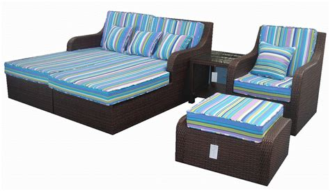 rattan sofa bed furniture rattan sofa rattan bed sf 008 china rattan bed