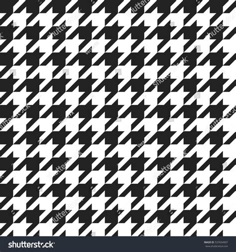 black and white clothing pattern houndstooth retro geometric pattern clothing fashion stock