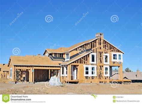 home warehouse design center big bear lake california house under construction editorial stock image image 37091804
