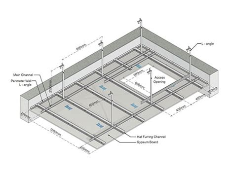 Mf Ceiling System by Knauf Dubai Kc B001 Suspension System
