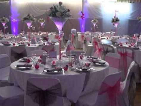 theme mariage rose et argent d 233 coration de mariage ana 239 s et florent chic et class en