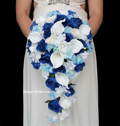 Blue Wedding Flower Pictures by Wedding Flower Packages Blue Wedding Flowers And Royal
