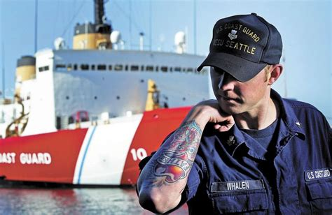 coast guard tattoo policy coast guard tightens on tattoos